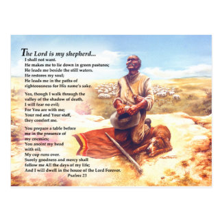 A Shepherd's Prayer Post Card