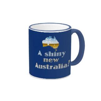 A Shiny New Australia Coffee Mugs