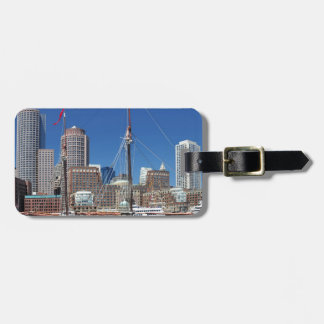 A Ship in Boston Harbor Luggage Tags