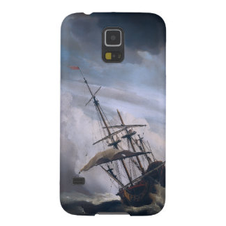 A Ship In Need In A Raging Storm Case For Galaxy S5