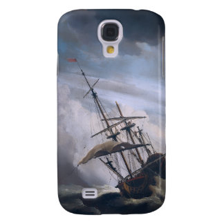 A Ship In Need In A Raging Storm Galaxy S4 Covers