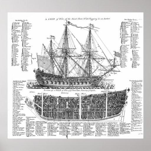 A Ship of War Poster