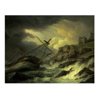 A Shipwreck, said to be `The Dutton' Postcard