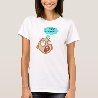A shirt to wear on a hectic day for the ladies.