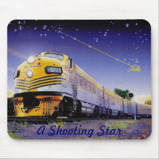 A Shooting Star Mouse Pad