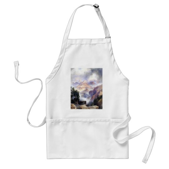 A Showery Day, Grand Canyon - 1919 Adult Apron