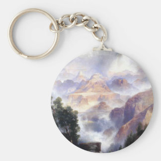 A Showery Day, Grand Canyon - 1919 Keychain