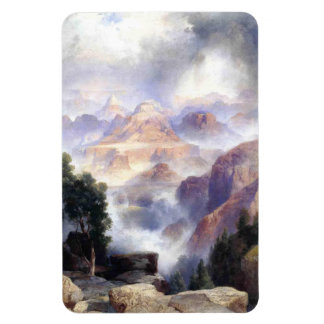 A Showery Day, Grand Canyon - Thomas Moran (1919) Magnet