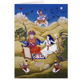 'a-Shul Pema Legden & Khandro Yeshé Réma [card] Greeting Card