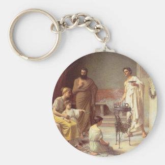 A Sick Child Basic Round Button Keychain