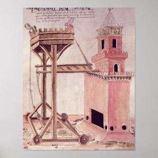 A siege machine poster