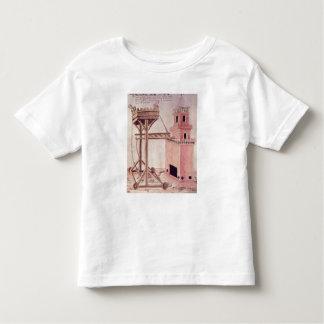 A siege machine toddler t-shirt