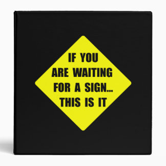 A Sign Binder