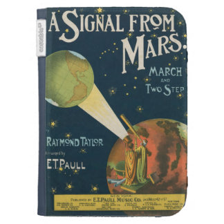 A Signal From Mars Kindle Keyboard Case