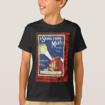 A Signal From Mars March Vintage Sheet Music T-Shirt