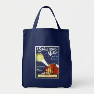 A Signal From Mars Vintage Song Sheet cover Tote Bag