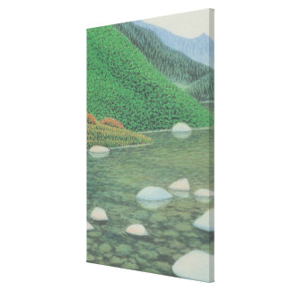A Silent Corner in Moutains Canvas Print