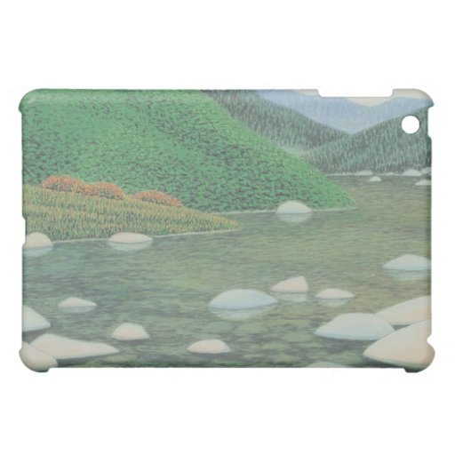 A Silent Corner in Moutains Case For The iPad Mini