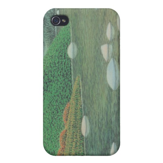 A Silent Corner in Moutains iPhone 4 Case