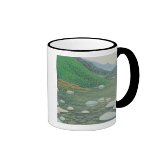 A Silent Corner in Moutains Mugs