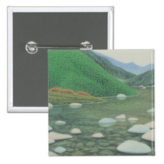 A Silent Corner in Moutains Pinback Button
