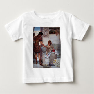A Silent Greeting by Sir Lawrence Alma Tadema Baby T-Shirt