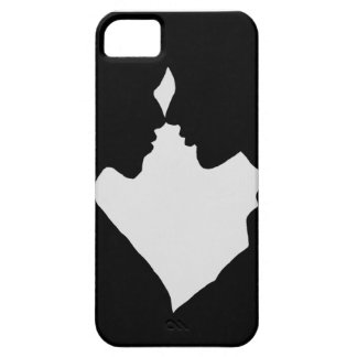 A silhouette of a couple, a man and a woman, love iPhone SE/5/5s case