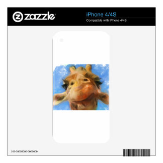 a silly face skin for the iPhone 4