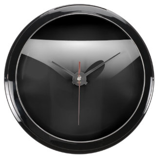 A Silver Dish Aquarium Clocks