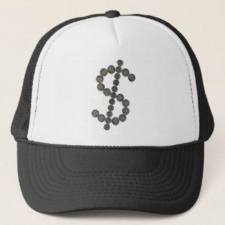 A Silver Dollar Trucker Hat