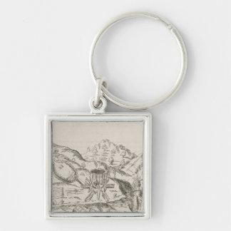 A Silver Mine' Keychain