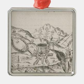 A Silver Mine' Metal Ornament