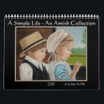 """&quot;A Simple Life&quot; An Amish Collection  2019 Calendar<br><div class=""""desc"""">This 2019 calendar contains a collection of Amish themed paintings by artist Cheryl Ann McNulty. Note: This is a repeat of her 2018 calendar for those who didn&#39;t get a chance to get last years version. A new calendar is in the works. Cheryl&#39;s inspirational paintings of amish children are carefully...</div>"""