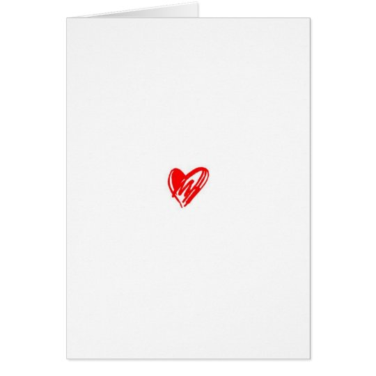 A Simple Love Poem Card