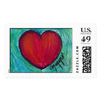 a simple love postage