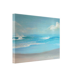 A Simple Sunny Day Canvas Print