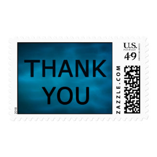 A Simple Thank You Postage Stamps