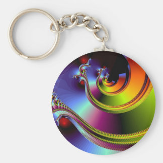 A Simple Twist of Fate Keychain
