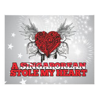 A Singaporean Stole my Heart Flyer