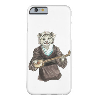 A Singing Cat Playing Samisen Barely There iPhone 6 Case
