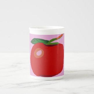 A Single Apple Light Pink Tea Cup