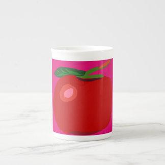A Single Apple Pink Tea Cup