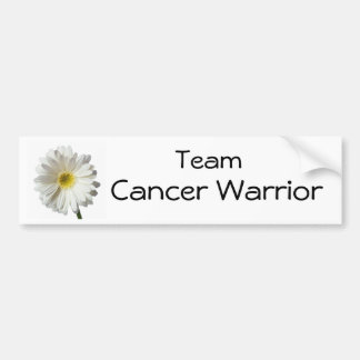 A Single Daisy for you and the Cancer Warrior Bumper Sticker