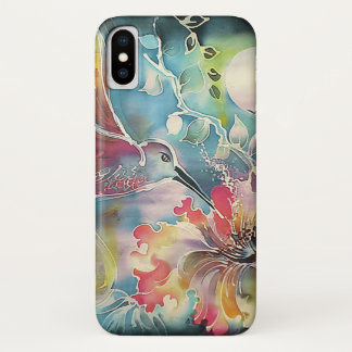 A Single Hummingbird iPhone X Case