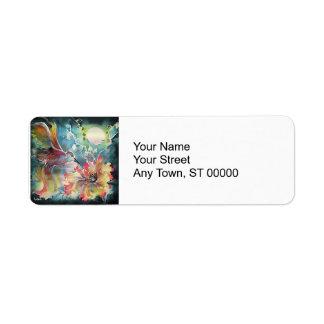 A Single Hummingbird Label