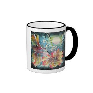 A Single Hummingbird Coffee Mugs