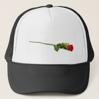 A Single Long-Stemmed Rose Trucker Hat