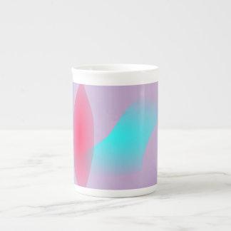 A Single Red Leaf Tea Cup