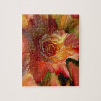 A Single Rose Puzzle