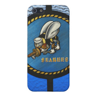 A single Seabee logo Cover For iPhone SE/5/5s